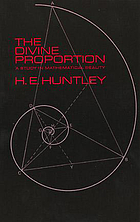 The divine proportion: a study in mathematical beauty,