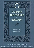 Clarence and Corinne, or, God's way