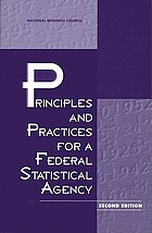 Principles and Practices for a Federal Statistical Agency.