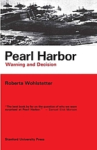 Pearl Harbor; warning and decision.
