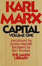 Capital : a critique of political economy