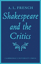 Shakespeare and the critics,