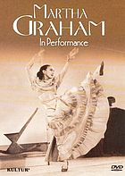 Martha Graham in performance