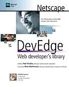 Netscape DevEdge Web developer's library