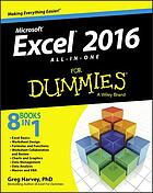Excel 2016 All-in-One for Dummies.