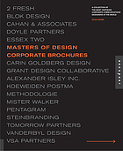Masters of design : corporate brochures : a collection of the most inspiring corporate communications designers in the world
