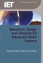 Waveform design and diversity for advanced radar systems