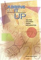 Adding it up : helping children learn mathematics