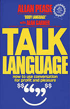 Talk language : how to use conversation for profit and pleasure