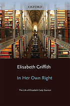 In her own right : the life of Elizabeth Cady Stanton