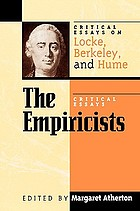 The empiricists : critical essays on Locke, Berkeley, and Hume