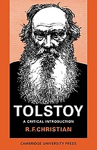 Tolstoy : a critical introduction