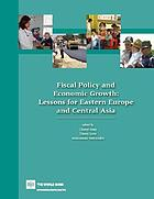 Fiscal policy and economic growth : lessons for Eastern Europe and Central Asia