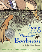 Song of the water boatman : & other pond poems