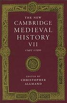 The New Cambridge medieval history. Volume VII : c.1415 - c.1500