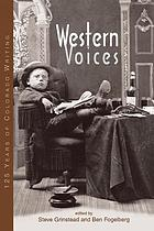 Western voices : 125 years of Colorado writing