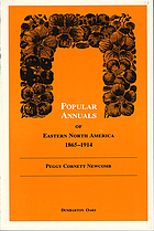 Popular annuals of eastern North America, 1865-1914