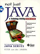 Not just Java : a technology briefing