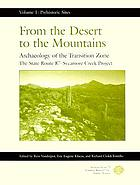 From the desert to the mountains : archaeology of the Transition Zone : the State Route 87-Sycamore Creek Project