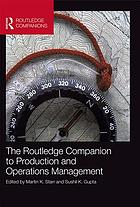 The Routledge Companion to Production and Operations Management.