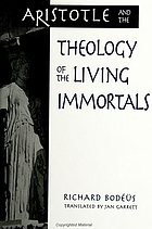 Aristotle and the theology of the living immortals