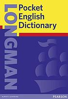 Longman pocket English dictionary.