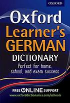 Oxford learner's German dictionary.