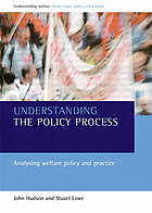 Understanding the Policy Process cover image