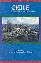 Chile : political economy of urban development