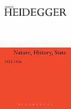 Nature, history, state, 1933-1934