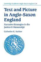 Text and picture in Anglo-Saxon England : narrative strategies in the Junius 11 manuscript