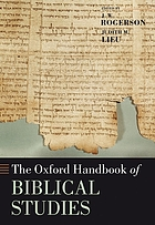 The Oxford handbook of biblical studies