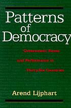 Patterns of democracy : government forms and performance in thirty-six countries