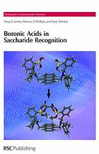 The boronic acids in saccharide recognition