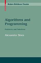Algorithms and programming : problems and solutions