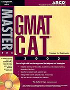 Master the GMAT CAT 2003