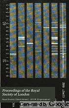Proceedings of the Royal Society of London.