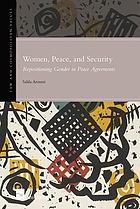 Women, peace and security : repositioning gender in peace agreements