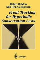 Front tracking for hyperbolic conservation laws