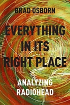 Everything in its right place : analyzing Radiohead