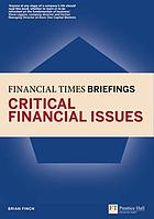 Financial Times briefings on critical financial issues