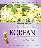 Cooking the Korean way