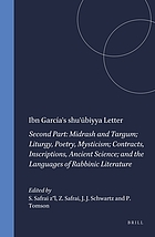 The literature of the sages. Second part: Midrash and Targum, liturgy, poetry, mysticism, contracts, inscriptions, ancient science and the languages of Rabbinic literature