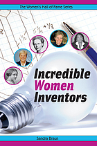 Incredible women inventors