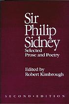 Sir Philip Sidney : selected prose and poetry