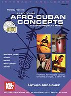 Mel Bay presents traditional Afro-Cuban concepts in contemporary music