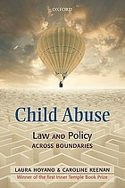 Child Abuse: Law and Policy across Boundaries cover image