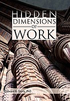 Hidden Dimensions of Work Revisiting the Chicago School Methods of Everett Hughes and Anselm Strauss.
