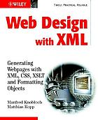 Web design with XML