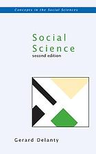 Social science : philosophical and methodological foundations